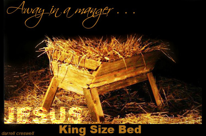 King size bed - Jesus